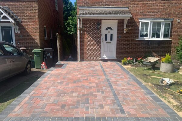 block paving driveway installed in st albans