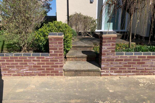 Retaining Walls job in Harpenden