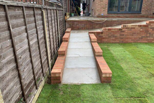raj blend sandstone disabled access ramp