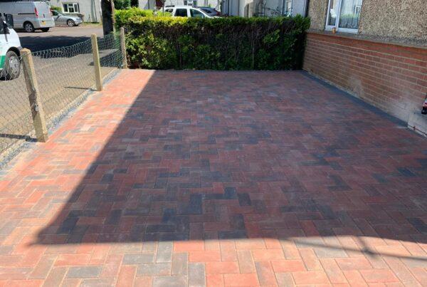block paved driveway redbourn