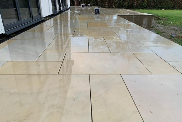 Sawn Owned Sandstone Patio