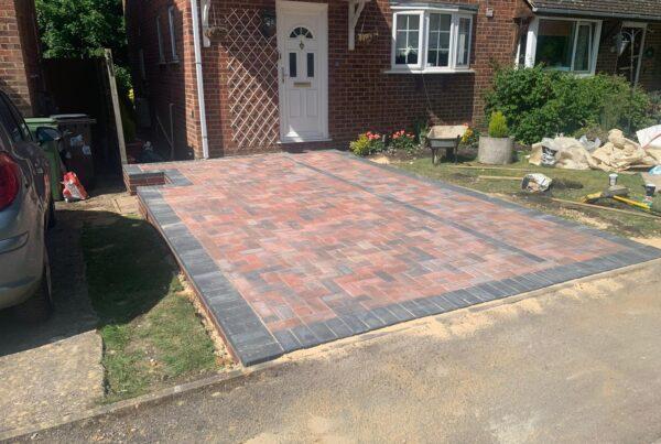 Harpenden block paving