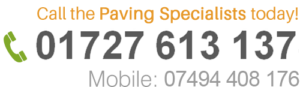 Contact MT Paving on 01727 613 137